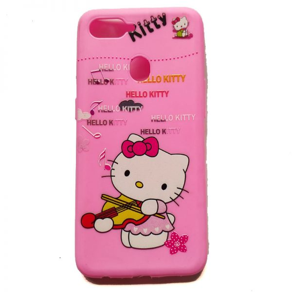 Hello Kitty Back Case for Oppo F9 Pro