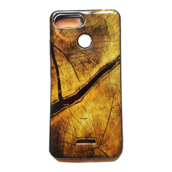 Marble Printed Back Case for Redmi 6