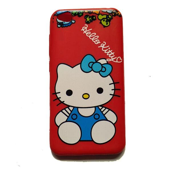 Hello Kitty Back Case for Redmi Go