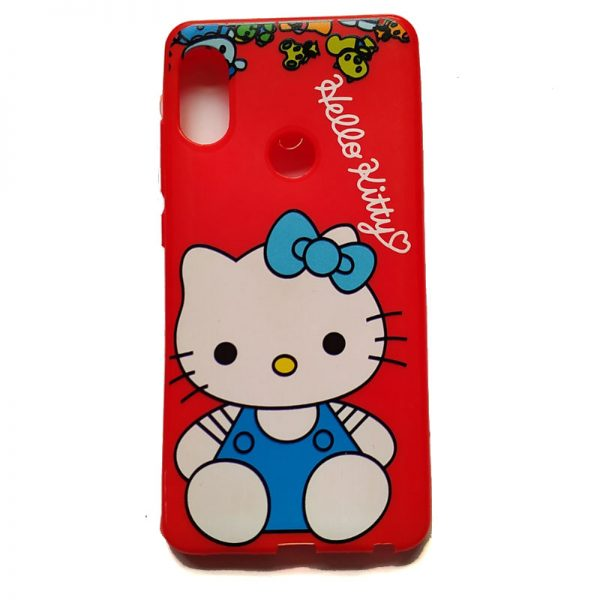 Hello Kitty Back Case for Redmi Note 5 Pro