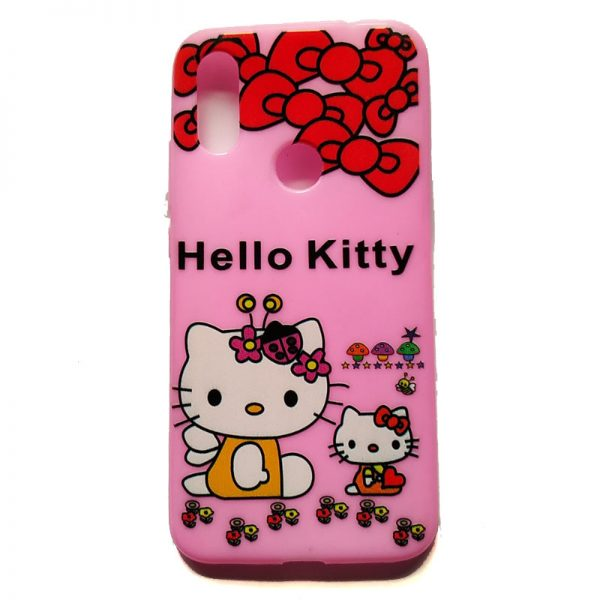 Hello Kitty Back Case for Redmi Y3